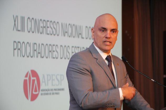 Não existe carreira com mais expertise no combate a corrupção, diz ministro Alexandre de Moraes no Congresso de Procuradores
