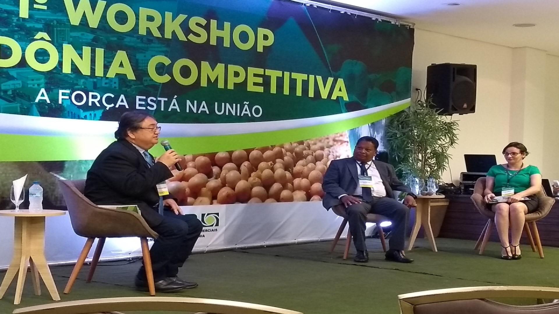 WORKSHOP FACER: Competitividade de Rondônia é discutida